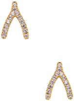 Tai Wishbone Stud Earrings