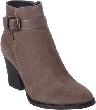 Aquatalia Farley Weatherproof Leather & Suede Bootie