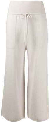 Sminfinity Cropped Drawstring Trousers