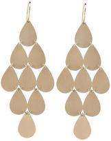 Irene Neuwirth Signature Large Teardrop Chandelier Earrings - Rose Gold