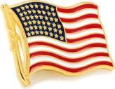 Cufflinks Inc. Waving American Flag Lapel Pin