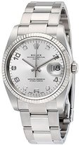 Rolex Oyster Perpetual Date Stainless Steel Automatic Men's Watch 115234SADO