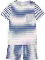 The Little White Company Breton stripe cotton pyjamas 6-12 years