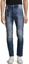 Antony Morato Faded & Whiskered Cotton Jeans