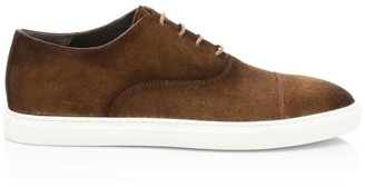 To Boot Eugene Suede Oxford Sneakers