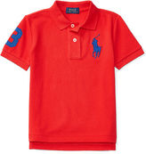 Ralph Lauren 2-7 Cotton Mesh Polo Shirt