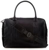 Jeff Banks Black Stitched Large Holdall Bag