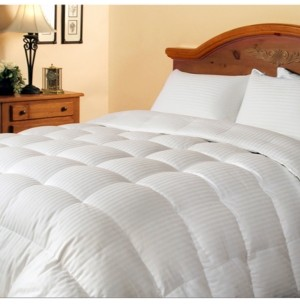 Blue Ridge 300 Thread Count White Down/ Feather Comforter, Full/Queen