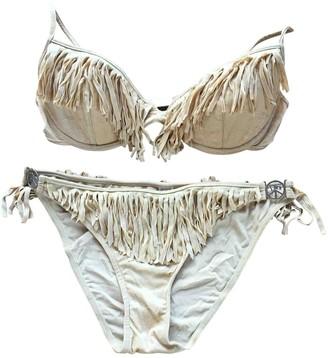 Christian Dior Beige Lycra Swimwear