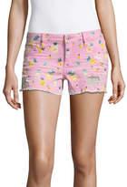 Arizona 2 1/2 Pineapple Shorts-Juniors