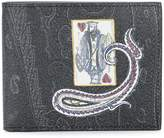 Etro King of Hearts wallet