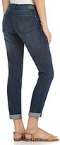 DKNY City Rolled Skinny Jeans