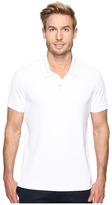 Perry Ellis Pique Zip Polo