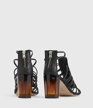 AllSaints Pia Leather Sandals