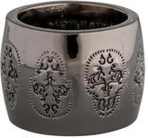 Thomas Wylde Skull Band Ring