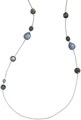 Ippolita Rock Candy Sterling Silver & Multi-Stone Mixed-Shape Station Long Necklace