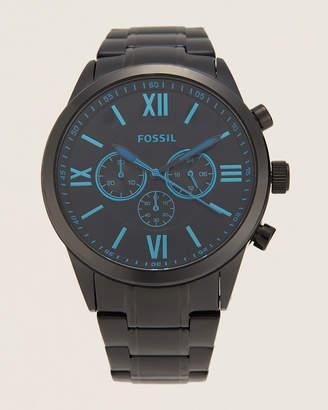 Fossil BQ2260 Flynn Chronograph Black-Tone Watch