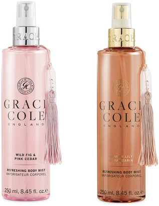 Grace Cole Body Mist Duo - Wild Fig & Pink Cedar and Ginger Lily & Mandarin