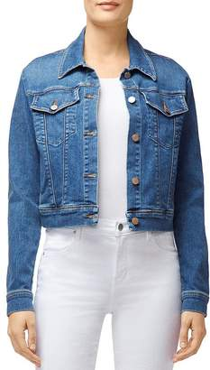 J Brand Harlow Shrunken Denim Jacket in Rapture