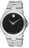 Movado 606555 Men's Black Dial Stainless Steel