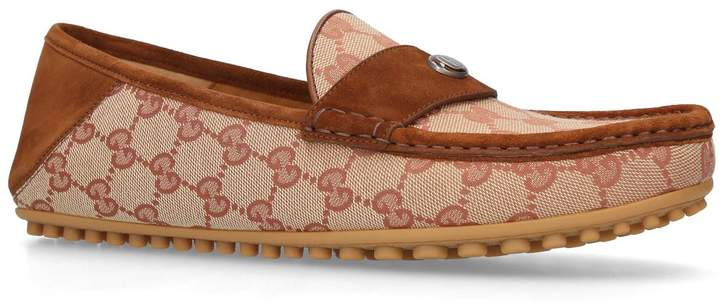 Gucci Canvas Kanye Driving Shoes