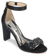 Badgley Mischka Collection Edaline Crystal Embellished Ankle Strap Sandal