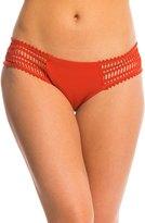 Robin Piccone Sophia Crochet Side Tab Bikini Bottom 8143284