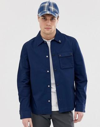 Farah Sebastian lightweight jacket in navy