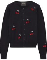 Markus Lupfer Sequin-embellished Cotton Cardigan - medium