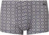 Hanro - Printed Stretch-cotton Boxer Briefs