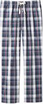 Joe Fresh Men's Pattern Sleep Pant, Crimson (Size M)