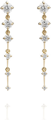 Fernando Jorge Sequence Short 18k Diamond Earrings