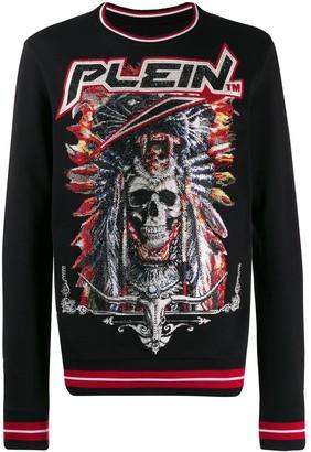 Philipp Plein Embellished Swetshirt