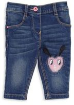 Billieblush Baby's Heart Patch Jeans