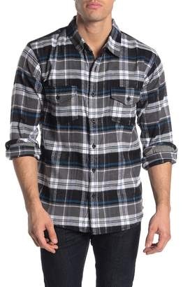 Burnside Woven Flannel Classic Fit Plaid Shirt