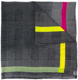 Faliero Sarti houndstooth scarf