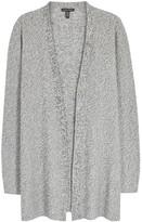 Eileen Fisher Grey Mélange Tencel Cardigan