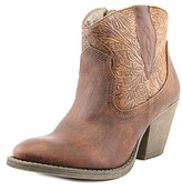 Jellypop Hurley Women Round Toe Synthetic Brown Ankle Boot.