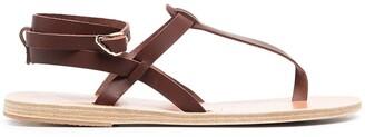 Ancient Greek Sandals Wrap Ankle Sandals