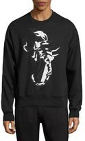 Diesel Black Gold Scorpion Print Sweatshirt