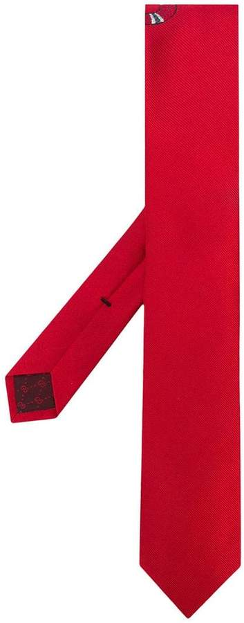 Gucci snake underknot tie