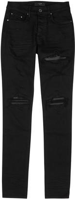 Amiri MX1 Black Skinny Jeans