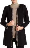 Insight Braided Trim Long Jacket