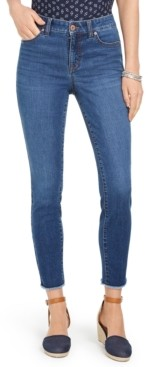Style&Co. Style & Co Uptown Raw-Hem Skinny Jeans, Created for Macy's
