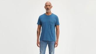 Levi's Striped Sunset Pocket Tee Shirt