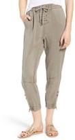 Pam & Gela Women's Cargo Jogger Pants