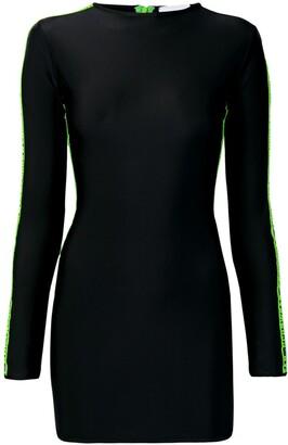 GCDS Logo Tape Dress