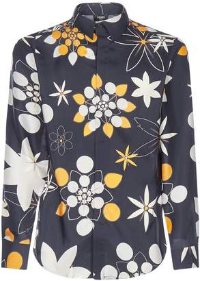 Fendi Flower Print Shirt