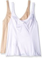 Vanity Fair Women's 2 Pack Daywear Solutions Built-Up Camisole 17160