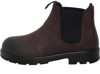 Fluid Boys Leather Dealer Boots Brown